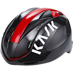 Kask Infinity Fietshelm, black/red